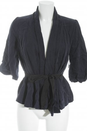 H&M Übergangsjacke schwarz-dunkelblau