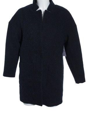 H&M Übergangsjacke schwarz-dunkelblau Casual-Look