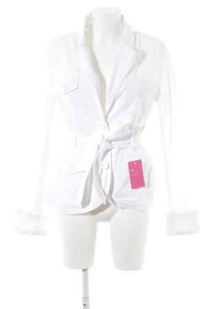 H&M Übergangsjacke weiß Casual-Look
