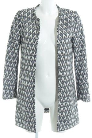 H&M Übergangsmantel abstraktes Muster schlichter Stil