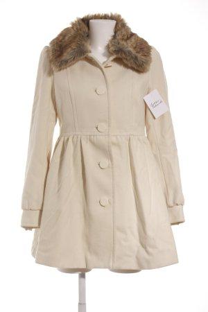 H&M Übergangsmantel creme-beige Casual-Look