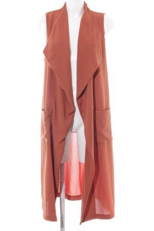 H&M Overgangsjas donker oranje casual uitstraling