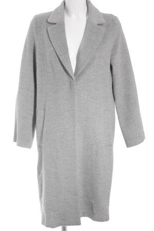 H&M Übergangsmantel grau schlichter Stil