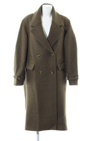 H&M Übergangsmantel grüngrau schlichter Stil