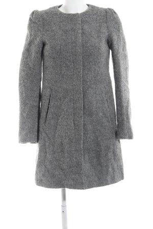 H&M Abrigo de entretiempo gris claro moteado look casual