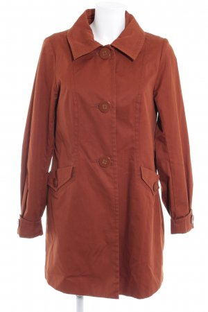 H&M Between-Seasons-Coat russet casual look