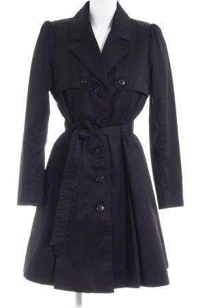 H&M Abrigo de entretiempo negro estilo «business»