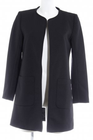 H&M Übergangsmantel schwarz schlichter Stil