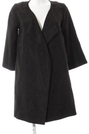 H&M Übergangsmantel schwarz Street-Fashion-Look