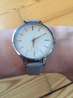 H&M Uhr grau neu