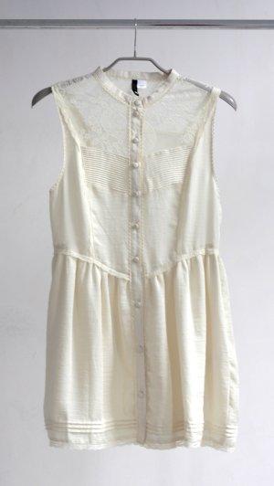 H&M Vintage Kleid creme