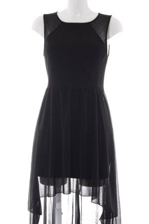 H&M Vokuhila-Kleid schwarz Casual-Look