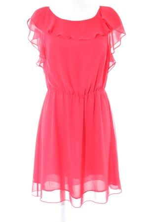 H&M Vestido estilo flounce rosa elegante