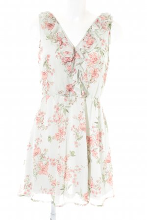 H&M Volantkleid Blumenmuster Beach-Look