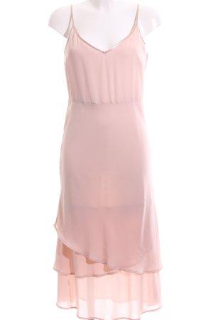 H&M Vestido estilo flounce rosa look casual