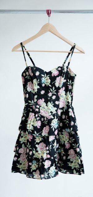 H&M Volantkleid- geblümt