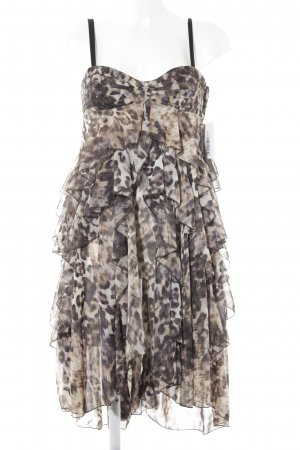 H&M Flounce Dress leopard pattern party style
