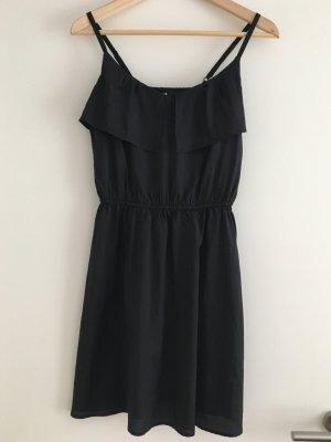 H&M Volantkleid schwarz 36