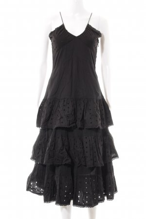 H&M Flounce Dress black elegant
