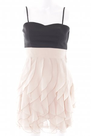 H&M Flounce Dress black-pink party style