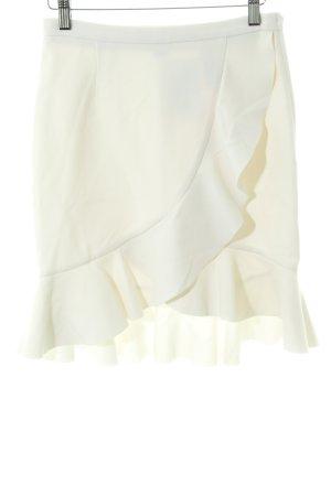 H&M Jupe à volants blanc élégant