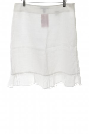 H&M Flounce Skirt white casual look
