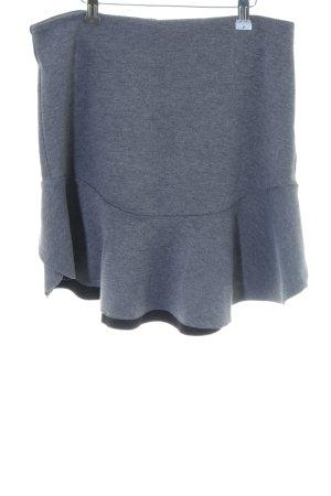 H&M Jupe à volants bleu-noir moucheté style décontracté