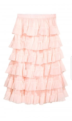 H&M - Volantrock - rosa
