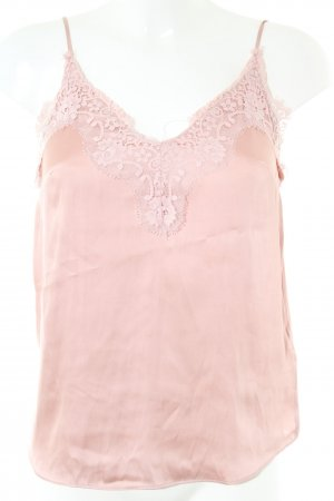 H&M Volanttop pink Business-Look