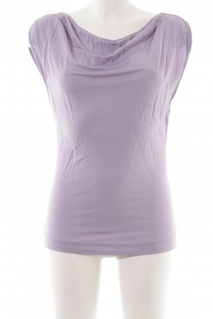 H&M Cowl-Neck Top lilac casual look