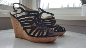 H&M Wedge Sandals multicolored leather