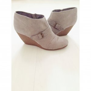 H&M Wedges grau, Gr.40