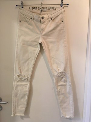 H&M weiße StretchjeAns, Gr. 36 ***Sale ***