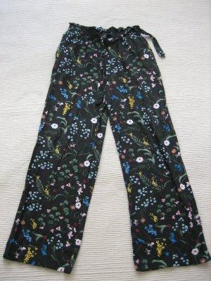 H&M Pantalone a vita alta multicolore
