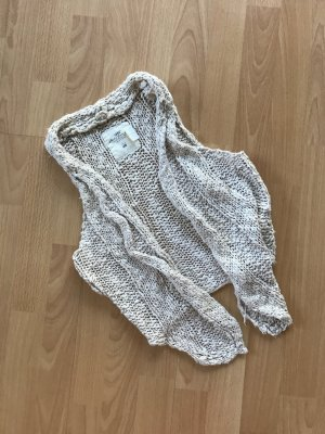 H&M Weste Cardigan Knit Strick offen Ethno Boho