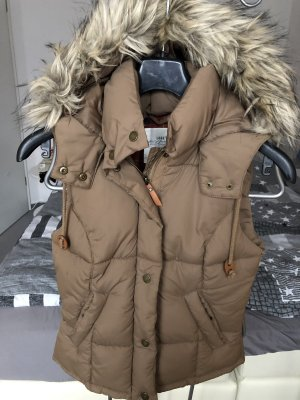 H&M Hooded Vest beige