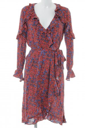 H&M Robe portefeuille motif de fleur style extravagant