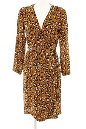 H&M Robe portefeuille motif léopard imprimé animal
