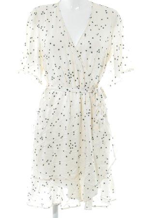 H&M Vestido cruzado estampado a lunares look casual