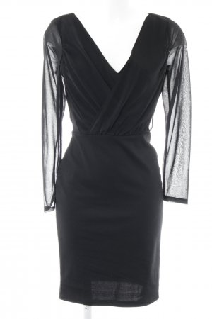 H&M Abito avvolgente nero stile casual