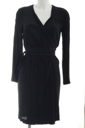 H&M Wickelkleid schwarz Elegant
