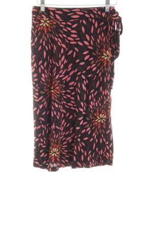 H&M Wraparound Skirt allover print casual look