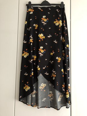 H&M Wraparound Skirt multicolored viscose