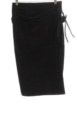 H&M Jupe portefeuille noir élégant