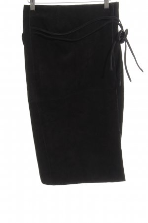 H&M Wraparound Skirt black elegant