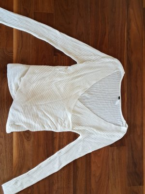 H&M Wickelshirt offwhite