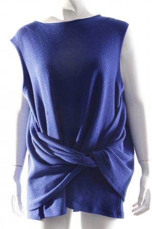 H&M Wickeltop royalblau