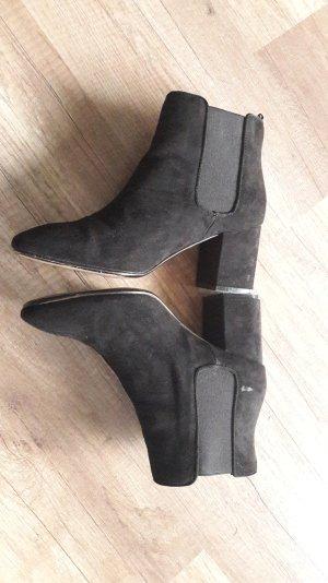 H&M Wildleder Optik Ankles Ankleboots Booties Stiefelette 40