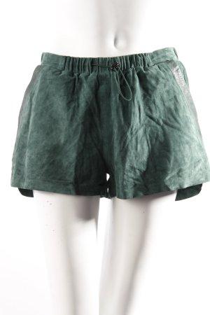 H&M Wildleder-Shorts waldgrün