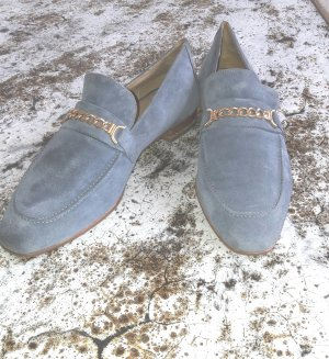 H&M Slippers pale blue